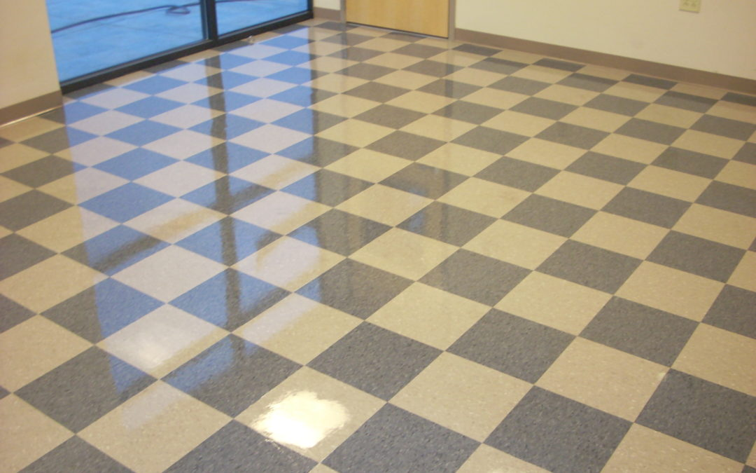 Vct Floor Stripping Waxing 423 Cleaning